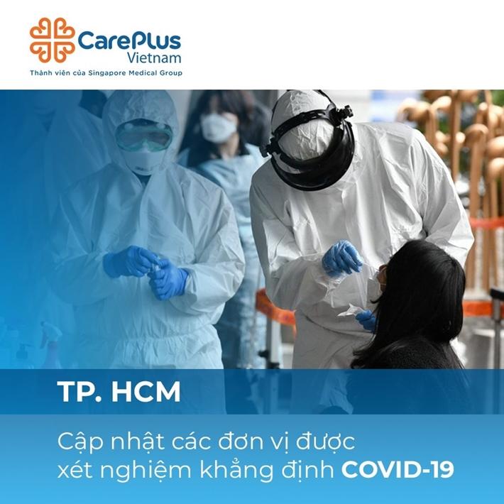 TP.HCM: Cập nhật các đơn vị được xét nghiệm khẳng định COVID-19