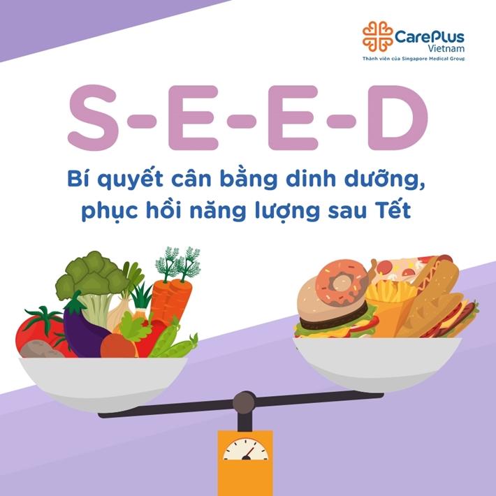 S-E-E-D = nutrition balance tips after tet holiday