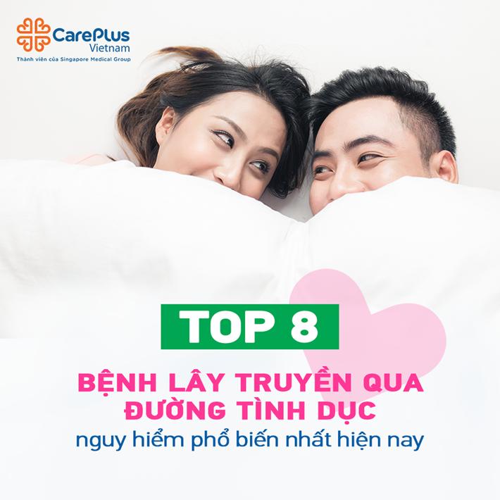 Top 8 bệnh lây truyền qua đường tình dục phổ biến nhất hiện nay