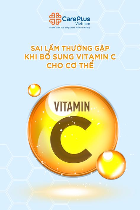 Sai lầm thường gặp khi bổ sung Vitamin C cho cơ thể!!!