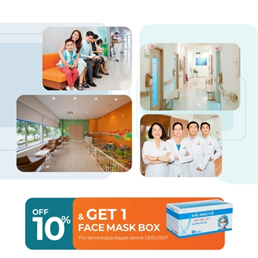 10% OFF and Get FREE 1 Face Mask Box