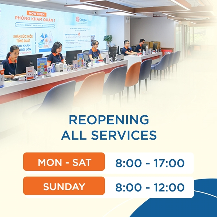 CarePlus reopen all services