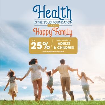 Great deals for family: Buy 1 get 15% OFF, Buy 2 get 20% OFF, Buy 3 get 25% OFF