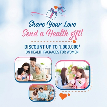 Discount up to 1,000,000VND on health packages for Women