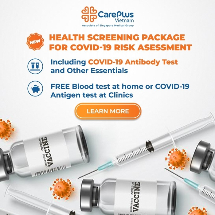 New! Health screening package for Covid-19 risk asessment