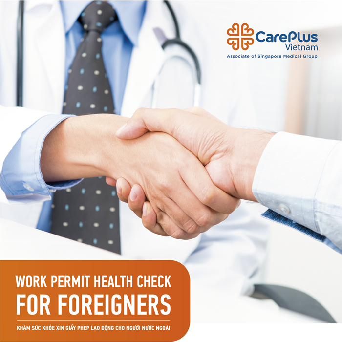 Work Permit Health Check for Foreigners