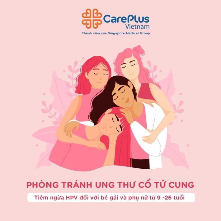 PHÒNG TRÁNH UNG THƯ CỔ TỬ CUNG - TIÊM NGỪA HPV ĐỐI VỚI BÉ GÁI VÀ PHỤ NỮ TỪ 9-26 TUỔI