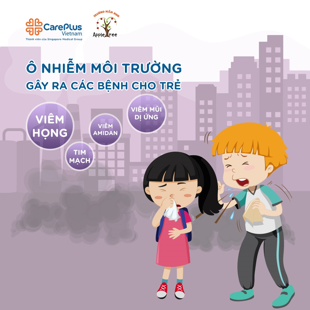 Hội thảo ''Ảnh hưởng của ô nhiễm môi trường đến sức khỏe trẻ em''