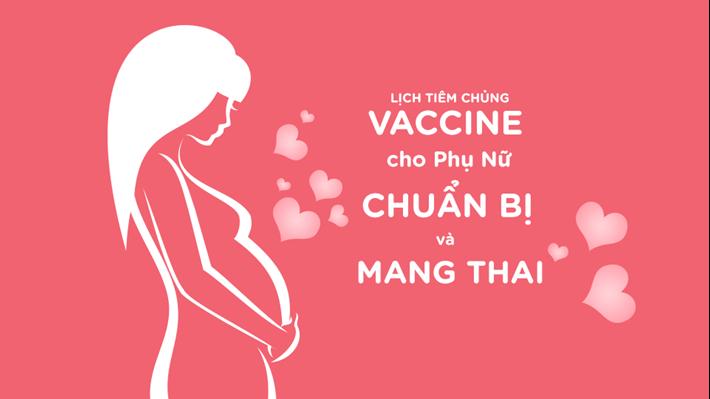 Lịch Tiêm Chủng Vaccine Cho Phụ Nữ Trước & Trong Khi Mang Thai