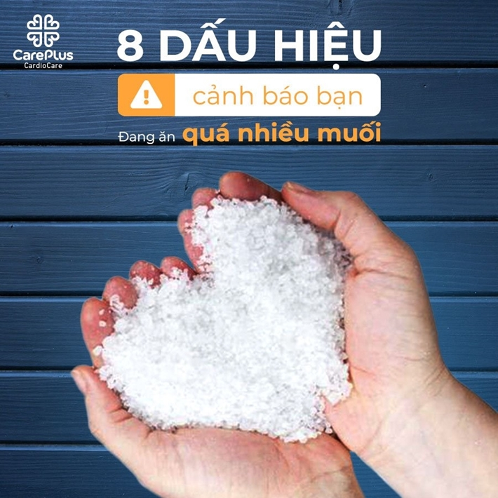 8 serious signs that you are consuming too much salt
